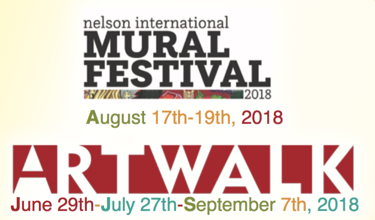 CALL TO ARTISTS: ArtWalk/Nelson International Mural Festival