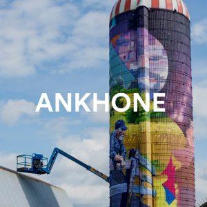 Ankhone mural art