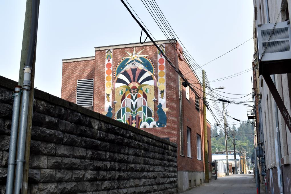 Lion's Gate Mural Landscape