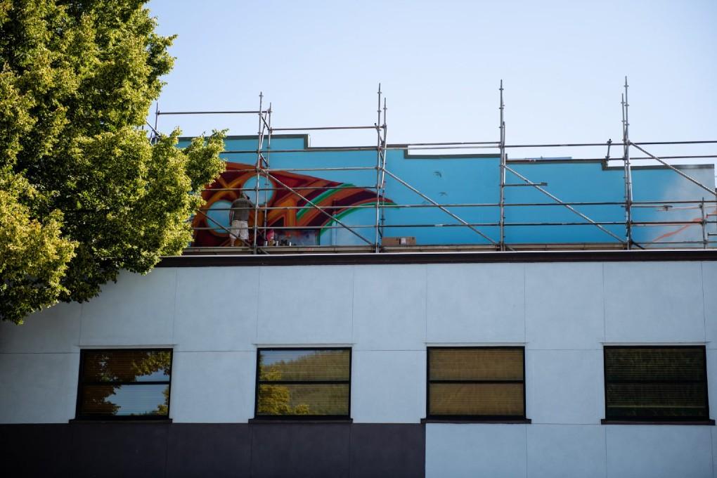 Coleman Webb, Muralist, Artist
