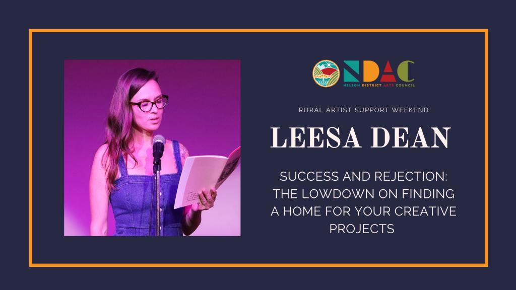Leesa Dean Workshop
